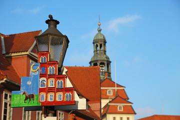 Laterne in Lüneburg
