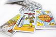 Leinwandbild Motiv tarot cards