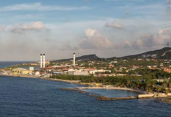 Fuel Refinery in Curacao