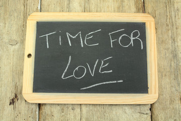 slate time for love