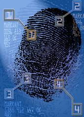 crime scene - Biometric Security Scanner - Identification