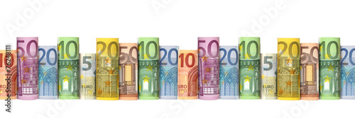canvas print picture Euro  Banknoten
