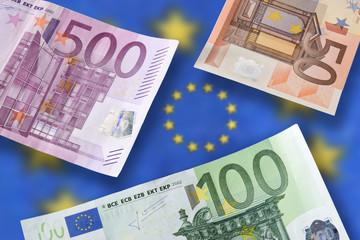 Euro Banknoten, bills 2729