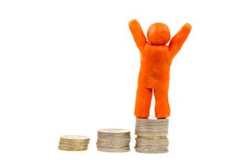 Successful Financial Winner