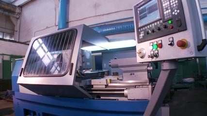 installation indispensable lathe control program into production