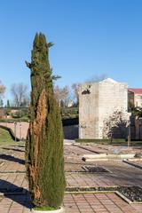 Tower of Alvar Nuñez in Guadalajara, Spain