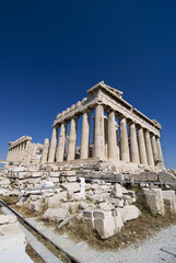 Parthenon of Athens Greece