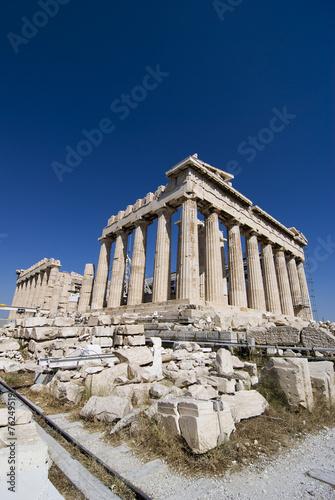Aluminium Athene Parthenon of Athens Greece