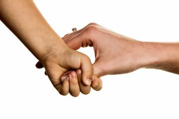 Kleine und große Hand