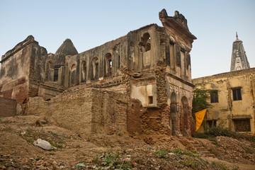 Old rubbish religious building