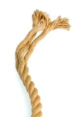 Stück eines Seils