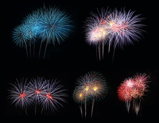 5 beautiful fireworks