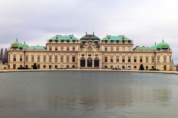 Österreich, Wien, Schloss Belvedere