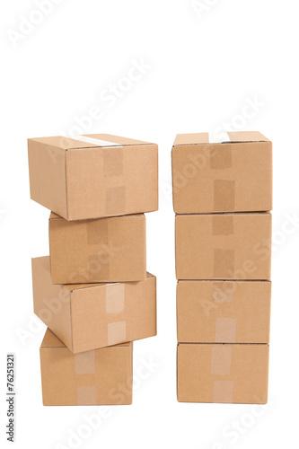 Leinwandbild Motiv Kartons