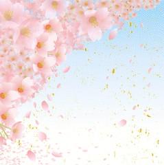 桜 和柄 フレーム