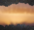 Brown blurred background