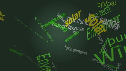 Falling Environmental Words