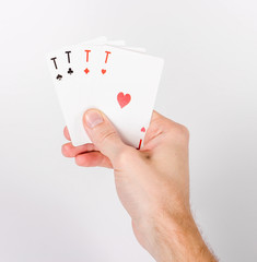 All Aces in hand