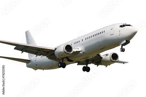 Plexiglas Vliegtuig Landing plane