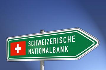 Wegweiser SCHWEIZERISCHE NATIONALBANK