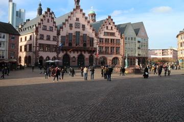Römerberg Platz Frankfurt am Main