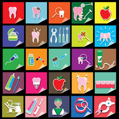 color dentist icons