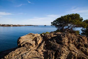 View of cadaqués bay