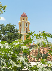 Bell Tower in Trinidad's Church,Cuba