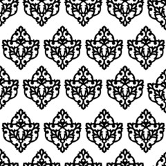 seamless texture in the style of Damascus