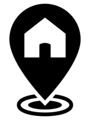 Home map pointer icon