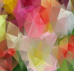 Modern abstract background arranged of colorful triangles