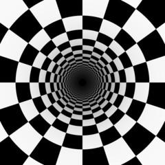 Fototapeta 3D psychodeliczny tunel