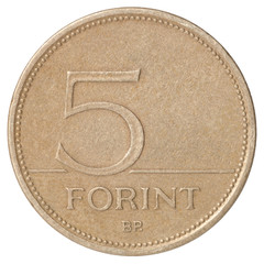 Hungarian Forint five