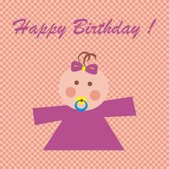 Happy birthday, baby girl