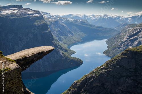 Trolltunga Norwegen - 76259396