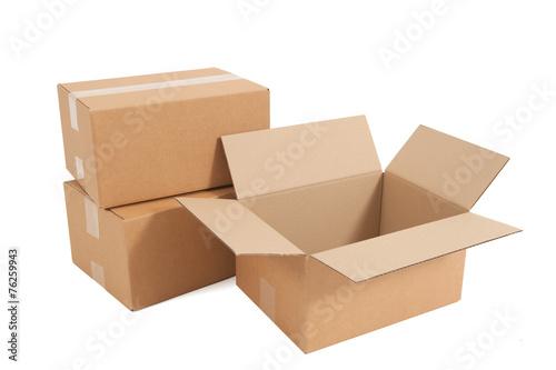 Leinwanddruck Bild Kartons