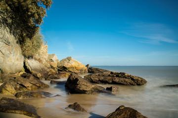 côte rocheuse de l'île de Noirmoutier