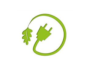 Symbol Ökostrom, Vektor
