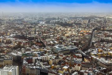 Berlin, Germany. City landscape. Bird's-eye view