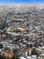 Berlin, Germany. City landscape. Bird's-eye view
