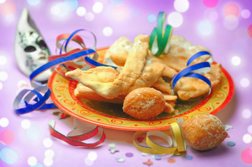Castagnole and frappe - Carnival italian sweets