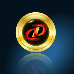 Goldplakette D