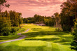 Golf Course at Sunset - 76262753