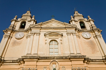 Saint Paul's cathedral, Imdina, Malta