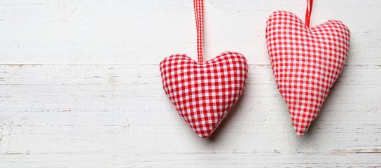 Herzen als Hintergrund