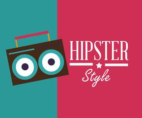 Hipster design, vector illustration.