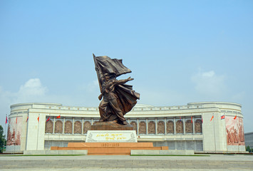 Liberation War Museum, Pyongyang, North-Korea