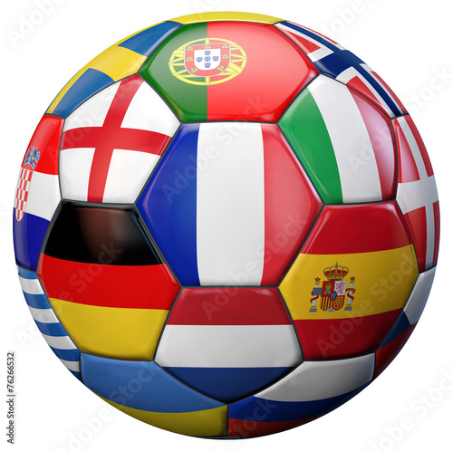 canvas print picture European Football