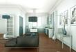 canvas print picture - moderne Wohung Interieur Design