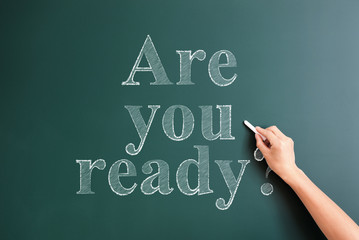 writing are you ready on blackboard